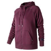 Essentials Full Zip Hoodie, Purple