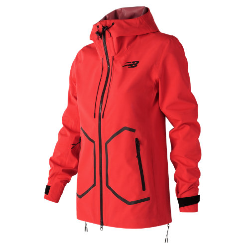 New Balance 247 Luxe 3 Layer Jacket Girl's All Clothing - WJ73542ENR