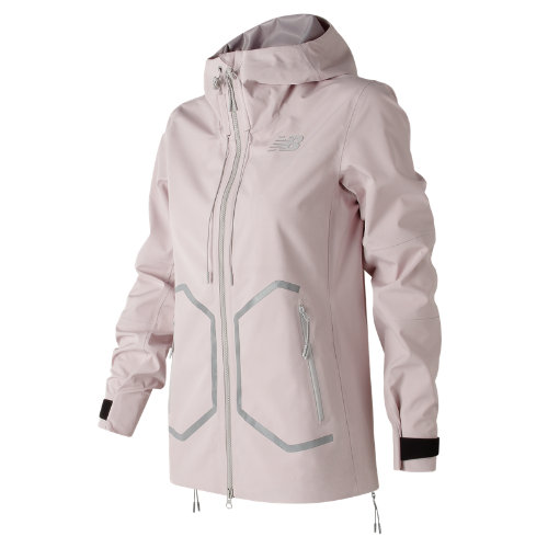 New Balance 247 Luxe 3 Layer Jacket Girl's All Clothing - WJ73542FDR