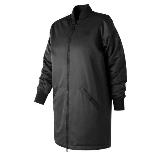 New Balance 247 Luxe MA1 Flight Jacket Girl's All Clothing - WJ73543BK