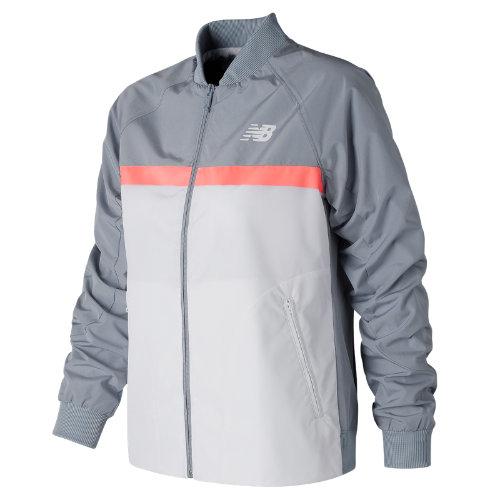 New Balance NB Athletics 78 Jacket Girl's All Clothing - WJ73545LSL