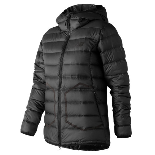New Balance 247 Luxe Down Jacket Girl's All Clothing - WJ73548BK