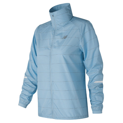 New Balance Reflective Packable Jacket Girl's Performance - WJ81242CLS