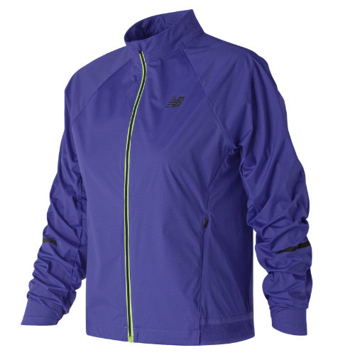 New Balance Vented Precision Jacket Girl's Performance - WJ81244BUE