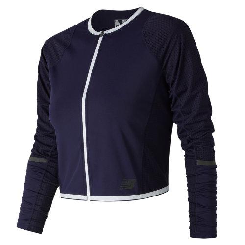 New Balance Q Speed Crop Jacket Girl's Jackets & Hoodies - WJ81246PGM