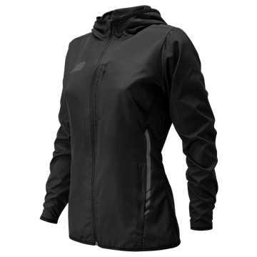 Women's Core Training Rain Jacket , Black