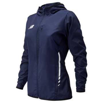 Women's Core Training Rain Jacket , Navy