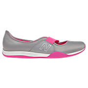 New Balance 101, Grey with Diva Pink
