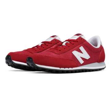 New Balance 410 70s Running Suede, Brick with White