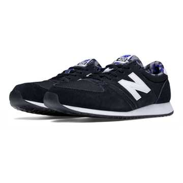 New Balance 420 Artistic Pop, Black with White