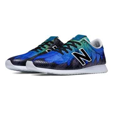 New Balance 420 Re-Engineered, Blue with Teal