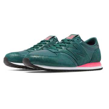 New Balance 420 Glam, Teal with Pink