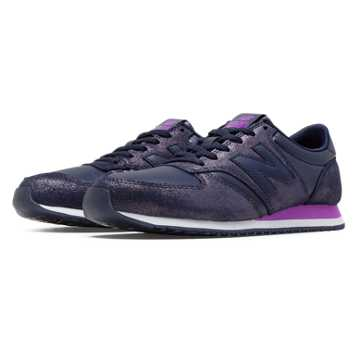 New Balance 420 Glam, Navy with Violet