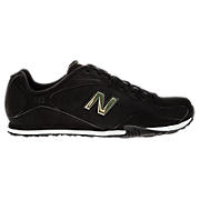 New Balance 442, Black with Gold & White
