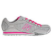 New Balance 442, Grey with Neon Pink