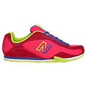 New Balance 442, Diva Pink with Neon Blue & Lime