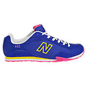 New Balance 442, Blue with Diva Pink & Yellow