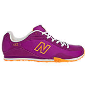 New Balance 442, Purple Cactus Flower with Neon Orange