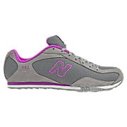 New Balance 442, Grey with Purple Cactus Flower