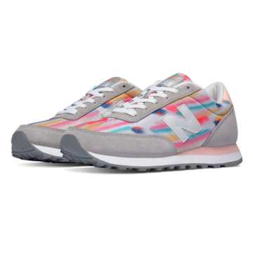 New Balance 501 State Fair, Silver Mink with Shell Pink & Mulit Color