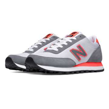 New Balance 501 Ballistic, Grey with Dragonfly & White