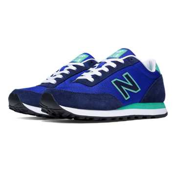 New Balance 501 Ballistic, Blue with Green