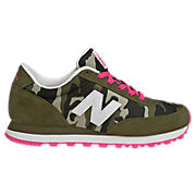 New Balance Camo 501, Olive with Tan & Pink Glo