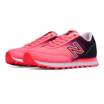 New Balance 501 Textile, Guava with Black