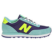 New Balance 501, Teal with Navy