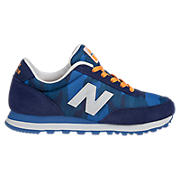 New Balance Camo 501, Navy with Blue & Orange