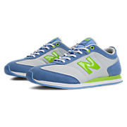 New Balance 550, Light Blue with White & Lime
