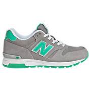 New Balance 565, Grey with Mint Green