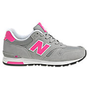 New Balance 565, Grey with Pink