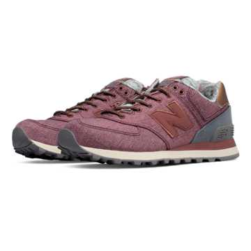 New Balance 574 Rose Gold, Lush with Steel