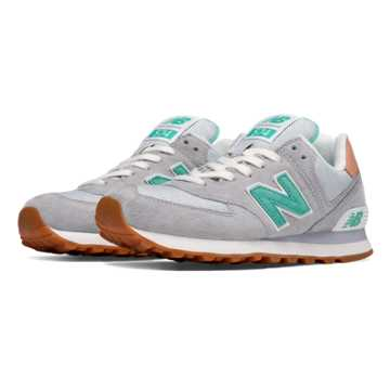 New Balance 574 Premium Cruisin, Light Grey