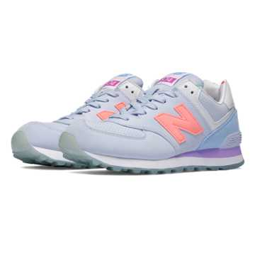 New Balance 574 State Fair, Mirage with Twilight Purple & Urchin