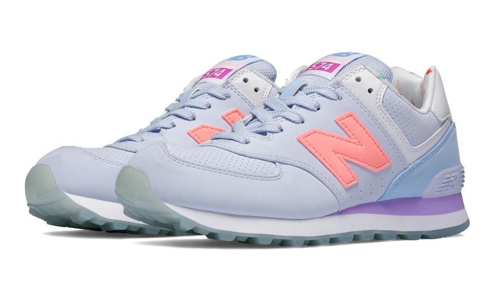 new balance 574 womens lilac