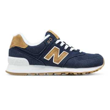 New Balance 574 15 Ounce Canvas, Pigment with Beeswax