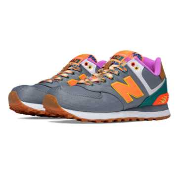 New Balance 574 Weekend Expedition, Gunmetal with Lava & Juniper