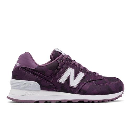 New Balance : 574 Camo : Women's Footwear Outlet : WL574MWA
