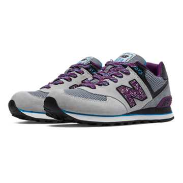 New Balance 574 Outside In, Grey with Imperial