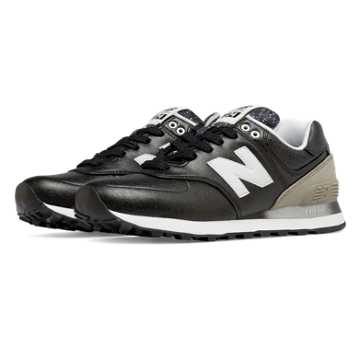 New Balance 574 Gradient, Black with Husk