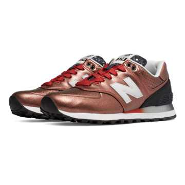 New Balance 574 Gradient, Copper with Black
