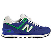 Rugby 574, Blue with Green