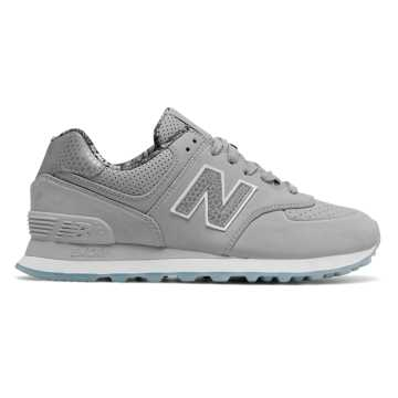new balance 574 women black and grey