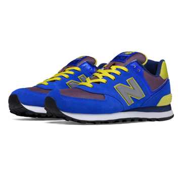New Balance 574 Paradise Awaits, Blue with Hi-Lite