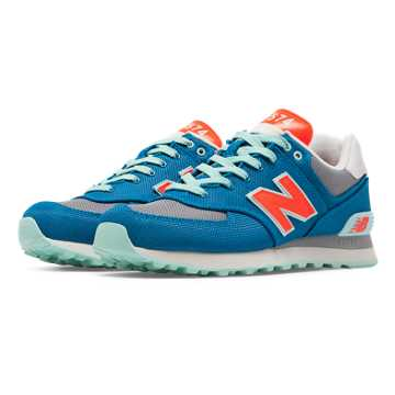 New Balance 574 Winter Harbor, Bolt with Light Grey & Orange