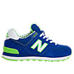 Yacht Club 574, Royal Blue with Lime Green & White