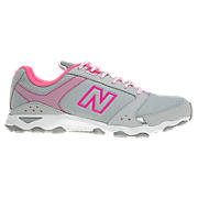 New Balance 661, Silver with Neon Pink