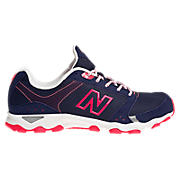 New Balance 661, Navy with Diva Pink